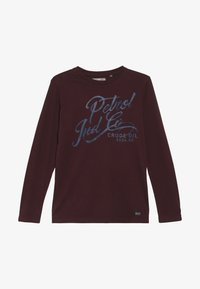 Petrol Industries - T-shirt à manches longues - burgundy - 2