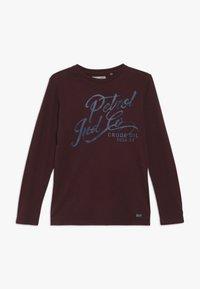 Petrol Industries - T-shirt à manches longues - burgundy - 0
