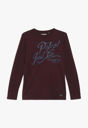 T-shirt à manches longues - burgundy