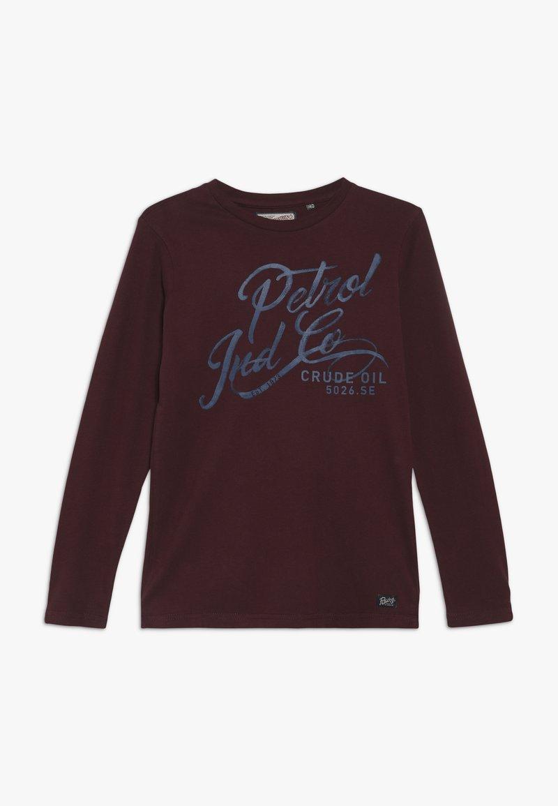 Petrol Industries - T-shirt à manches longues - burgundy
