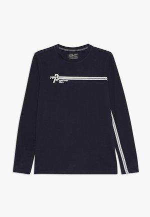 Long sleeved top - deep capri