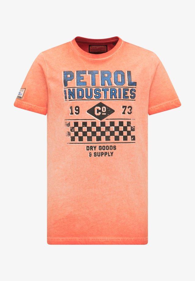 Printtipaita - deep orange