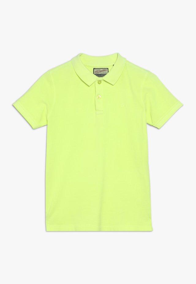 Poloshirt - safety yellow