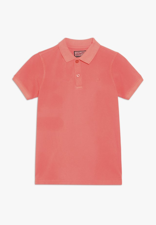 Poloshirt - fiery coral