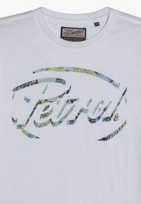 Petrol Industries - Triko spotiskem - bright white - 3