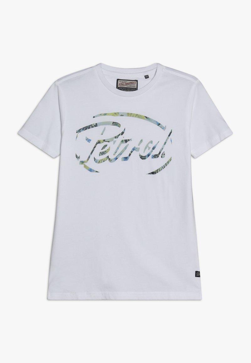 Petrol Industries - Triko spotiskem - bright white