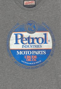 Petrol Industries - T-shirt imprimé - light slate melee - 3