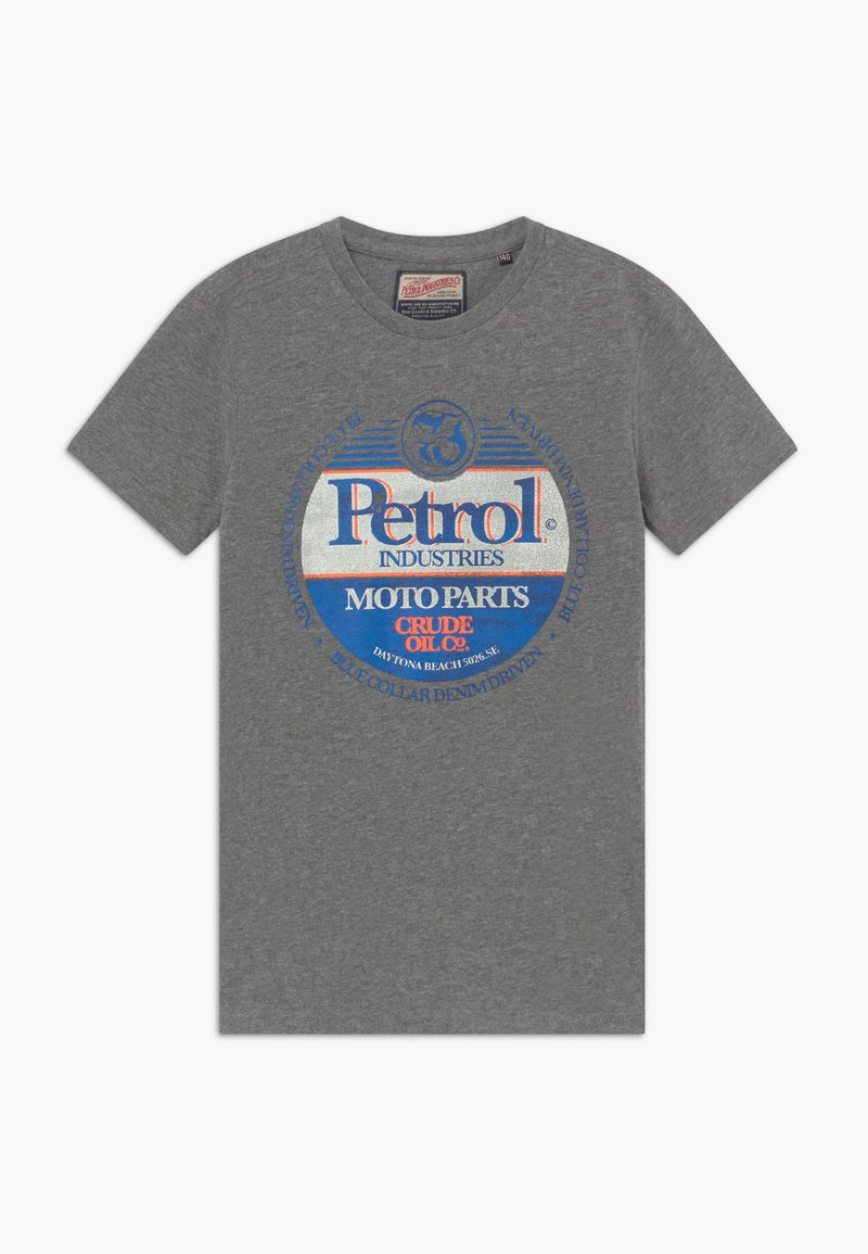 Petrol Industries - T-shirt imprimé - light slate melee