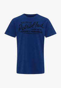 Petrol Industries - T-shirt con stampa - blue - 0