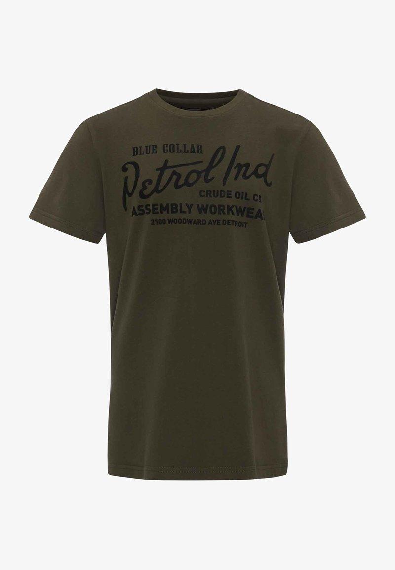 Petrol Industries - T-Shirt print - dark army