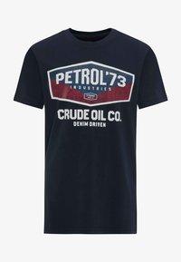 Petrol Industries - T-Shirt print - deep navy - 0
