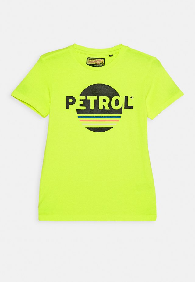 T-Shirt print - safety yellow