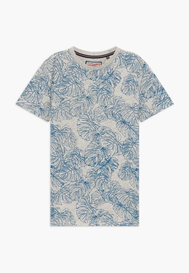 Camiseta estampada - silver grey melee
