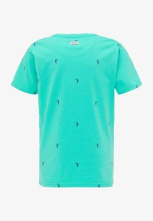 T-shirt print - light sea green