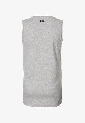 Top - light grey melee