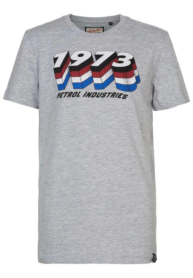 Camiseta estampada - light grey melee
