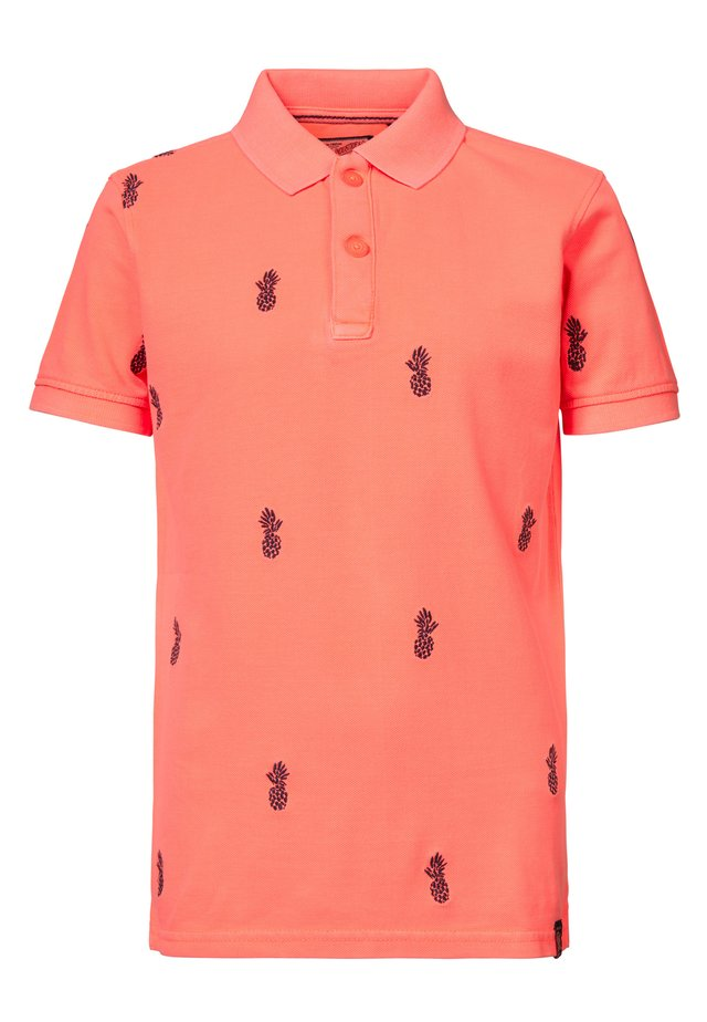 Poloshirt - corail pâle