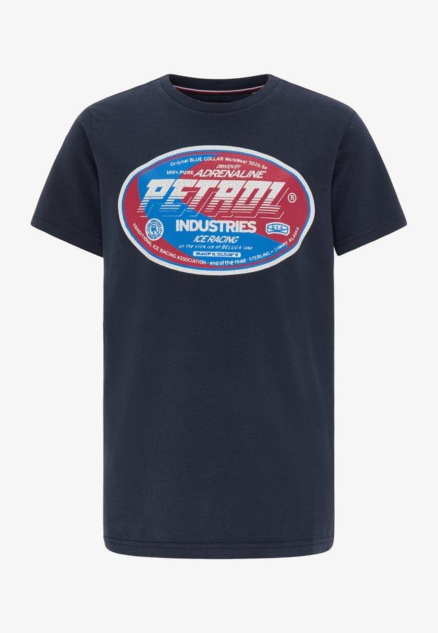 T-SHIRT - Camiseta estampada - deep navy