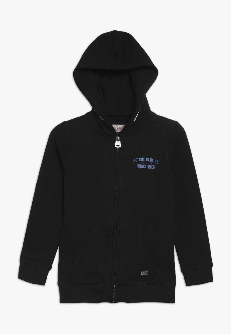 Petrol Industries - Zip-up hoodie - black