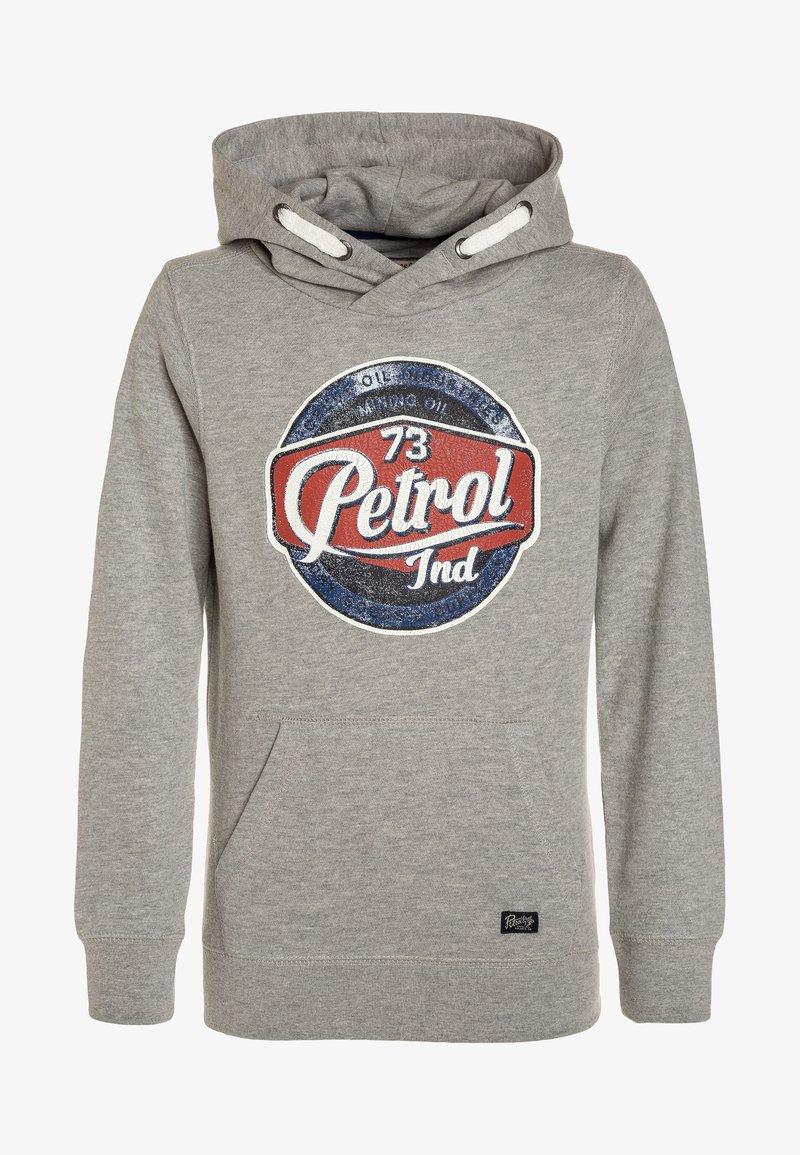 Petrol Industries - HOODY - Jersey con capucha - light grey melee