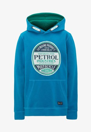 Hoodie - faded turquoise