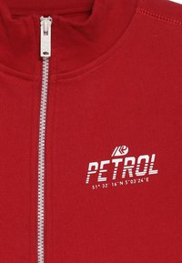Petrol Industries - Mikina na zip - fire red - 4