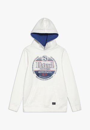 B-1000-SWH300 - Sweat à capuche - chalk white