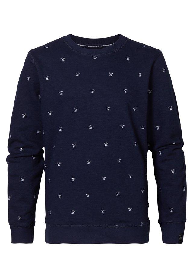 Sweater - deep capri