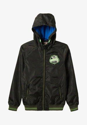 Waterproof jacket - greenstone