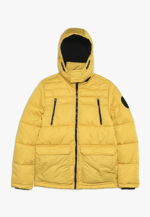 Winter jacket - sulphur