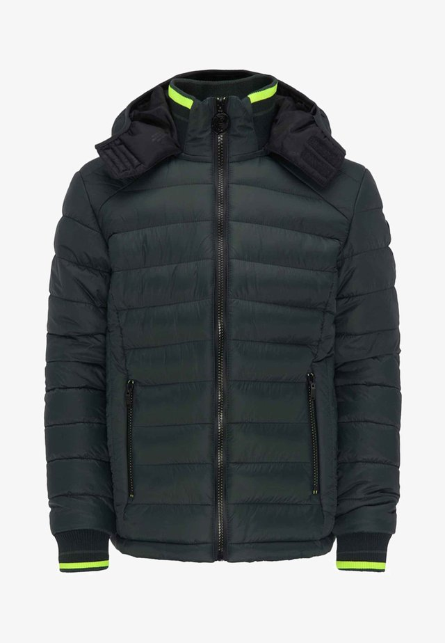Winterjacke - green