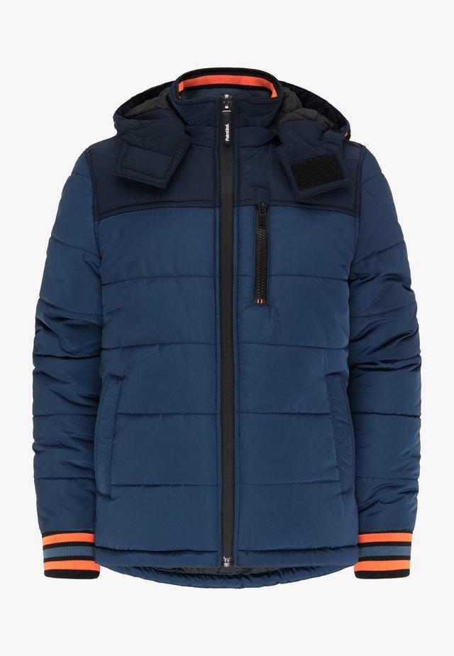 Winter jacket - petrol blue