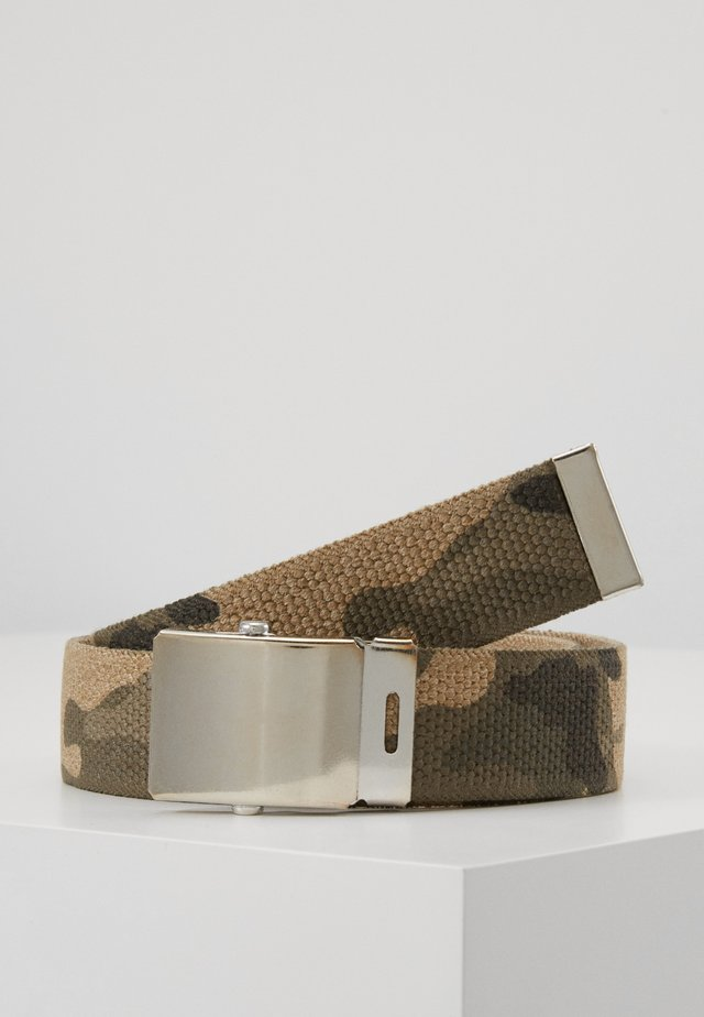 Belt - grün/beige