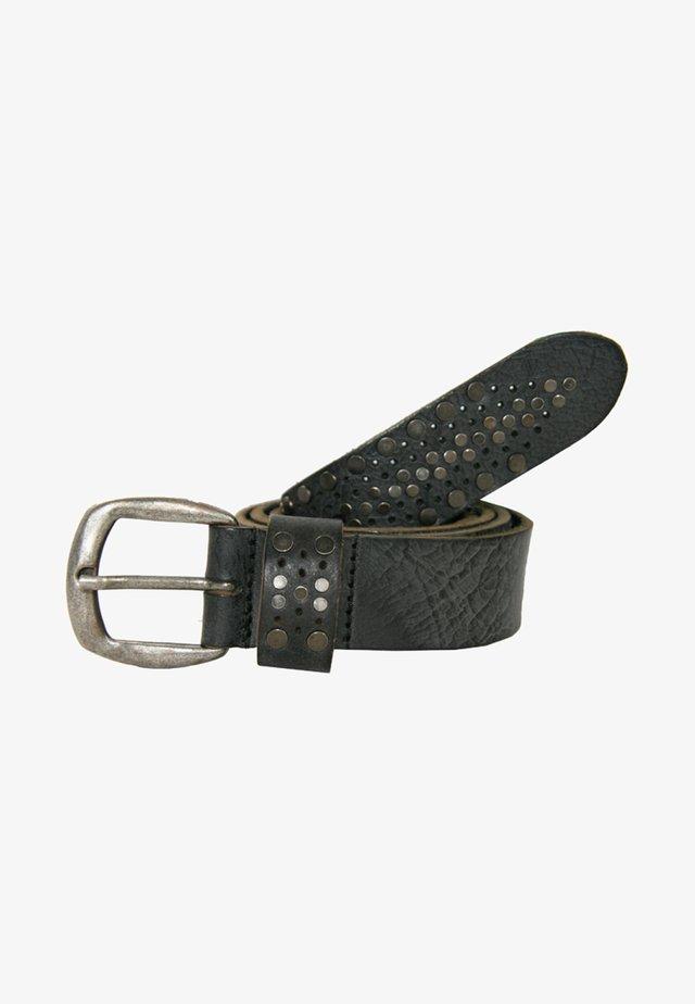 MIT TOLLEM NIETENBESATZ - Belt - black