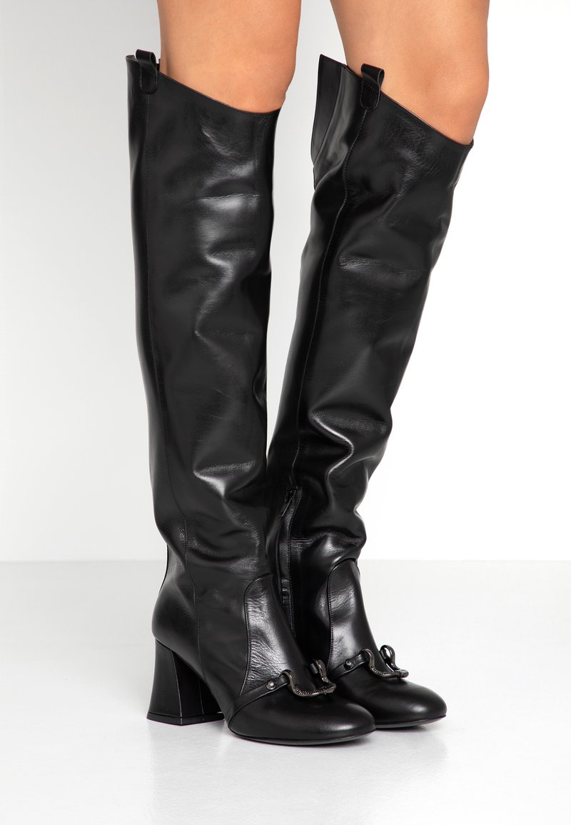 Pinko - NEVES - Over-the-knee boots - black