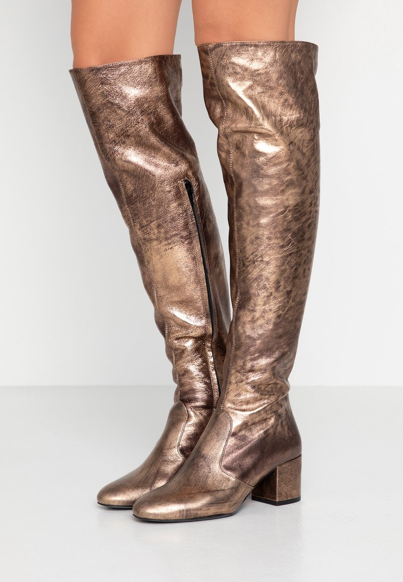 Pinko - IDRO - Over-the-knee boots - brown