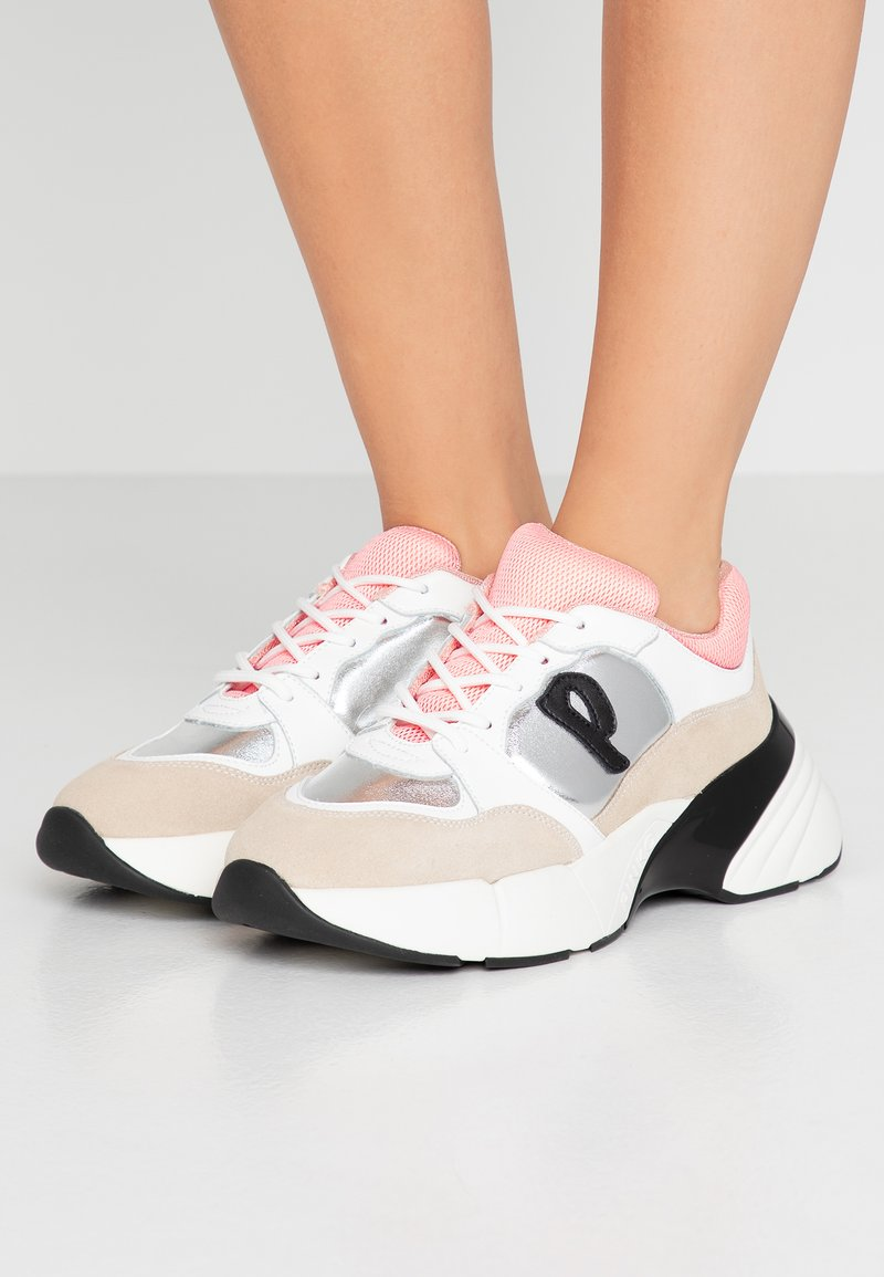 Pinko - OLIVO - Zapatillas - bianco/beige/argento