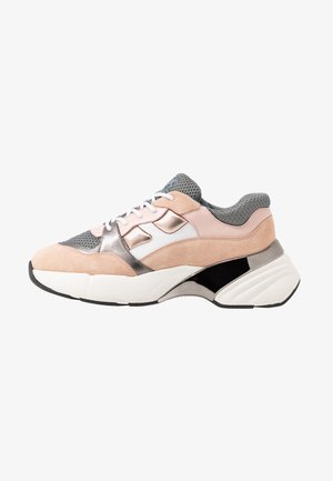 RUBINO - Matalavartiset tennarit - rosa/grigio