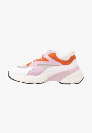 MAGGIORANA - Baskets basses - bianco/rosa/arancio
