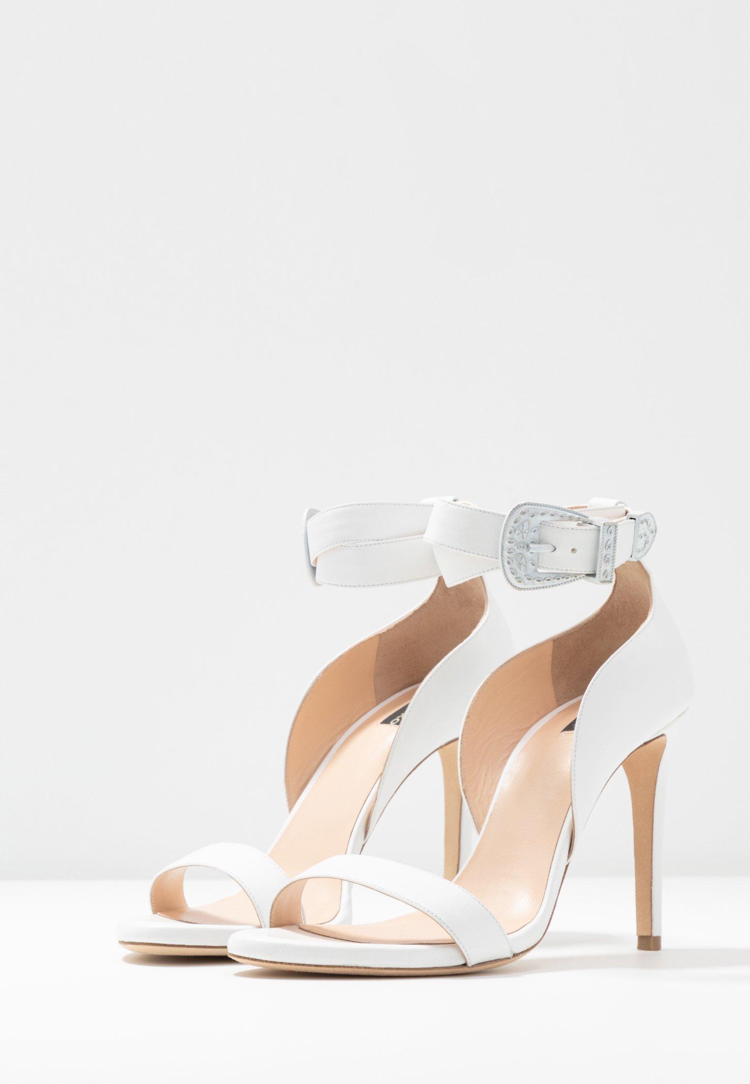 Pinko CURCUMA - High Heel Sandalette - bianco - Black Friday