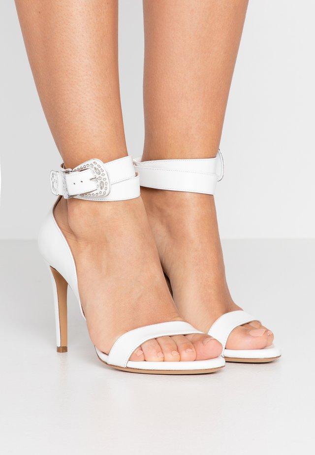 CURCUMA - High heeled sandals - bianco