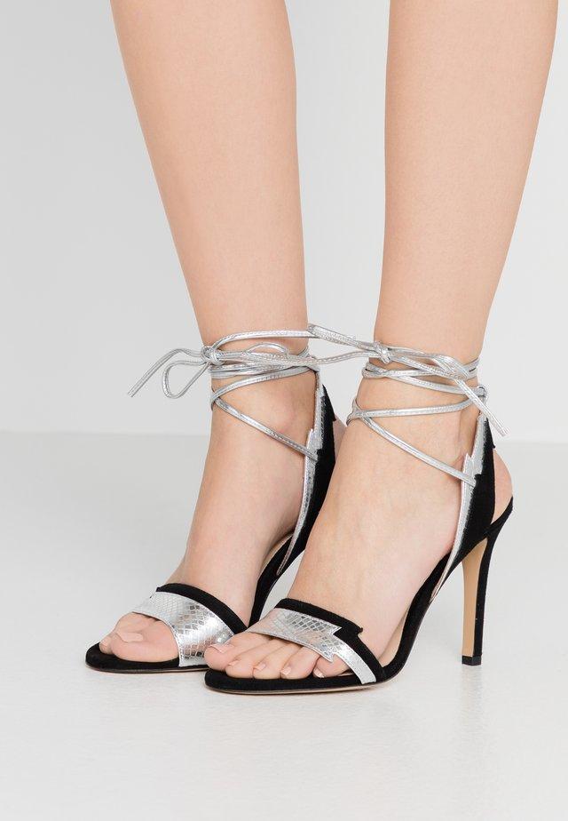 CHIODI DI GAROFANO  - High heeled sandals - nero limousine
