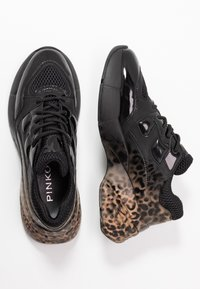Pinko - RUBINO ANIMALIER - Trainers - multicolor/nero - 3