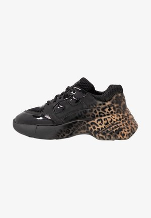 RUBINO ANIMALIER - Joggesko - multicolor/nero