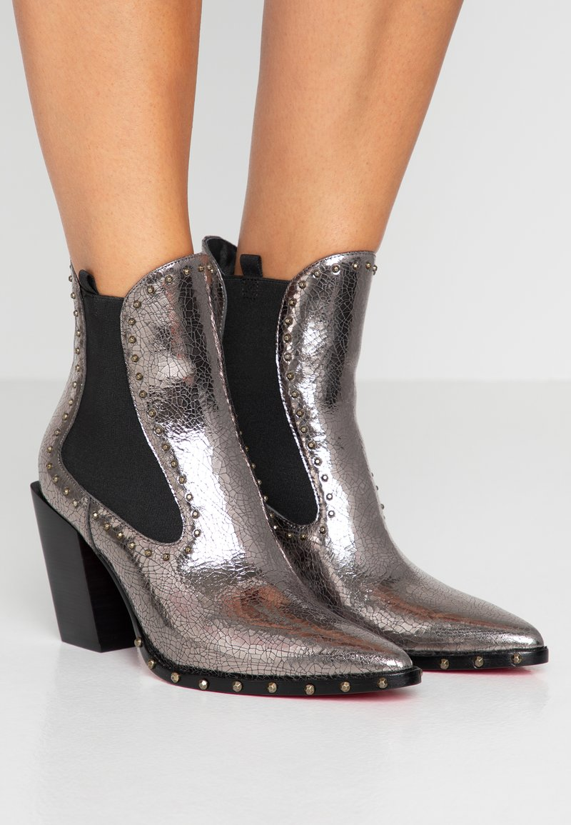 Pinko - ENDINE  - High heeled ankle boots - grey