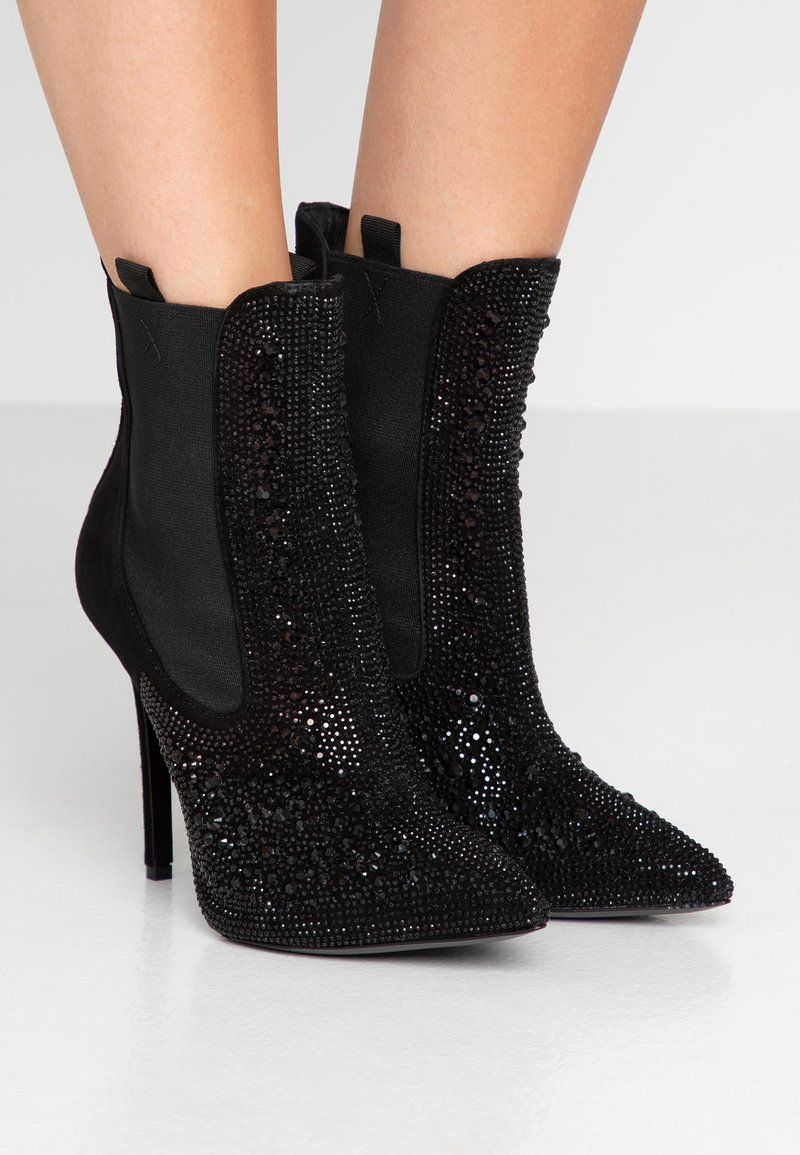 Pinko - BRAIES  - High heeled ankle boots - black