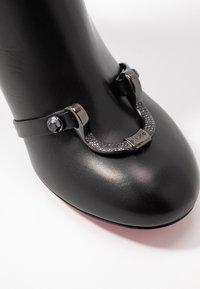 Pinko - MAGGIORE - Korte laarzen - black - 2