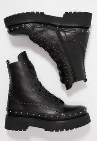 Pinko - CINGOLI - Cowboystøvletter - black - 3
