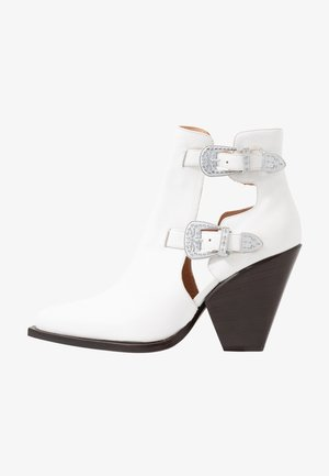 PAPRICA TRONCHETTO - Ankle boots - bianco