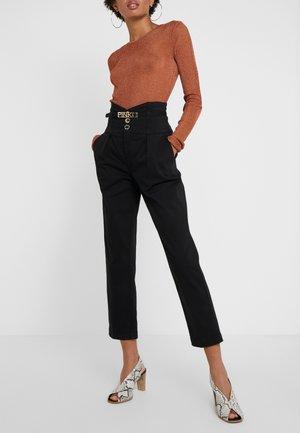 ARIEL GABA - Trousers - black
